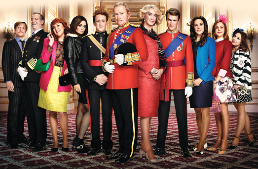 Brilliant: Show is real-life Windsors as if they're in Dynasty