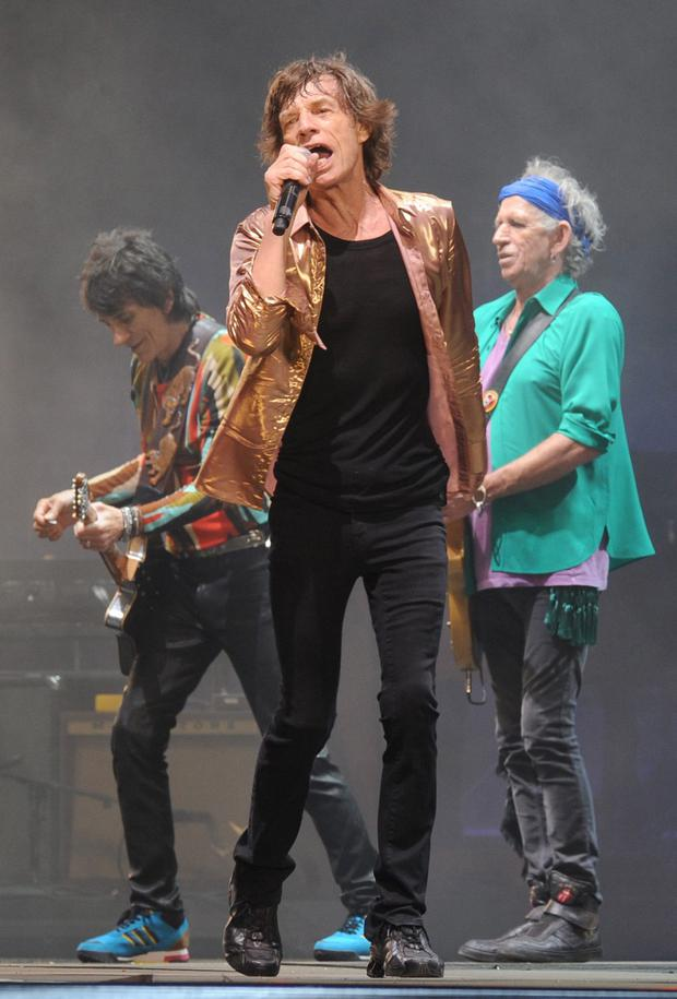 Rocking on: Mick Jagger of The Rolling Stones