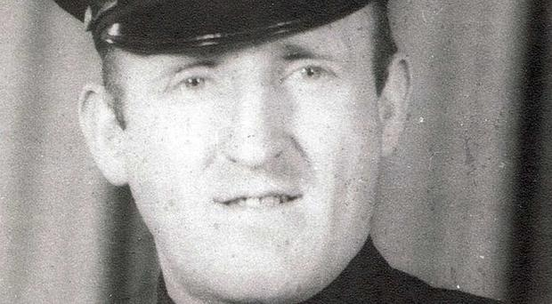 Good cop, bad cop: Peter Daly as a patrolman in the NYPD