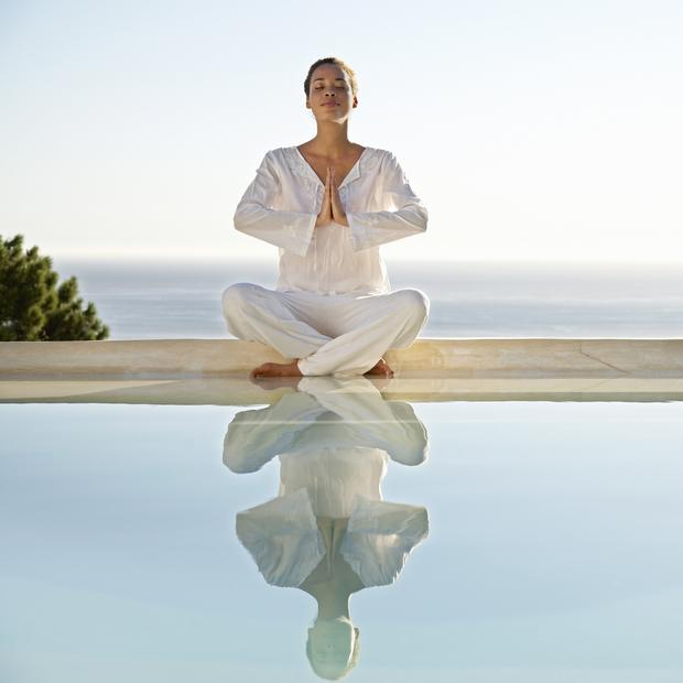 At ease: inner calm can help us to feel less stressed, tired and emotional