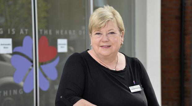 Helping hand: Lorraine Graham at the new adult hospice on the Somerton Road, Belfast