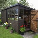 Varied choice: there are many different types of sheds on sale