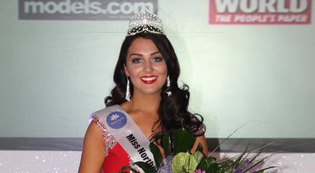 Emma is crowned Miss Northern Ireland 2016