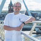Chef Ian Orr on Derry's Peace Bridge