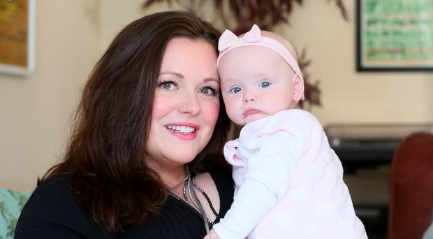 Kerry McLean with her daughter Eve
