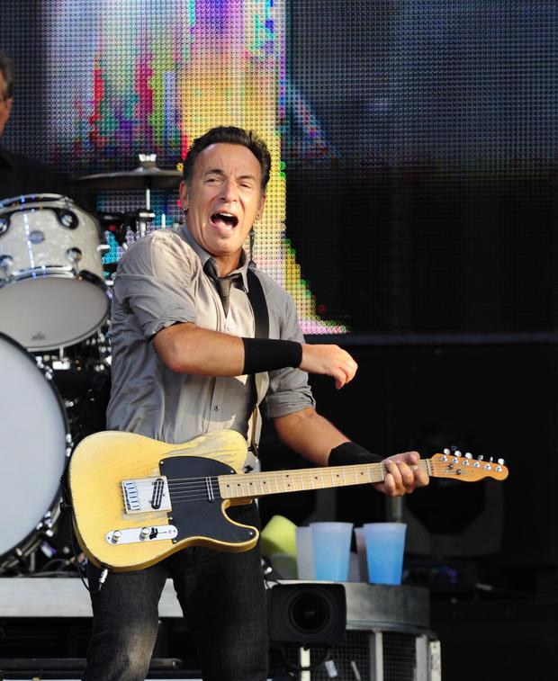 Class act: Bruce Springsteen at the King's Hall, Belfast in 2013