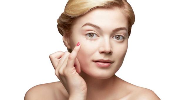 Everyone gets skin blemishes from time to time so the right cover-up is essential. Picture posed