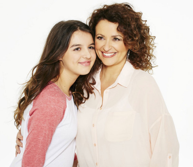 Teen talk: Nadia Sawalha and daughter Maddie