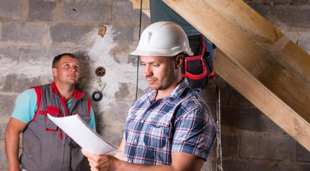 Worthwhile extra: make sure you get the experts in to survey any house