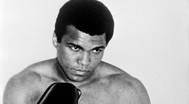 Boxing legend Muhammad Ali in his prime