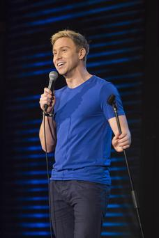 All smiles: Russell Howard is one of the UK's most popular comedians