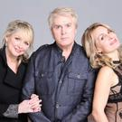 Make believers: former Bucks Fizz members Cheryl Baker, Mike Nolan and Jay Aston will be singing for a Leave