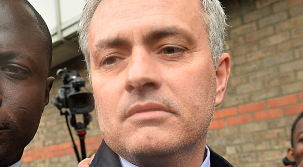 Man's world: Jose Mourinho leaves Croydon Employment Tribunal earlier this week