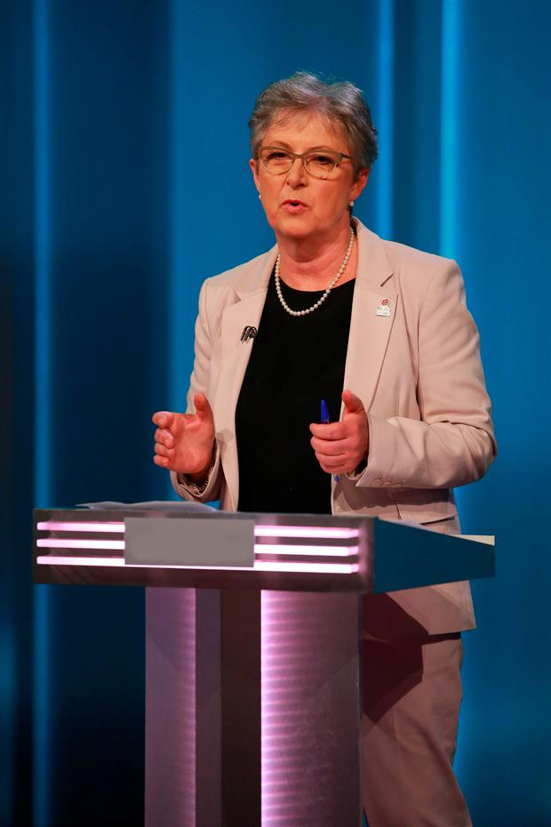 Fair point: Labour's Gisela Stuart has her say