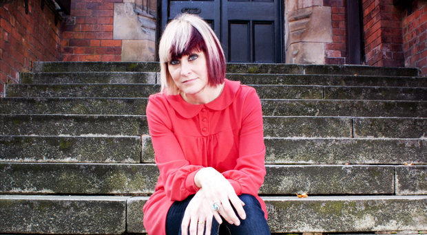 Straight talking: writer Tara West as she is today