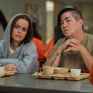 Prison break: Taryn Manning and Lea DeLaria in Orange Is The New Black
