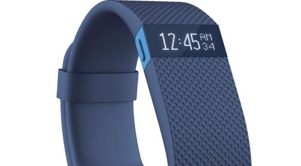Fitbit Charge HR Fitness Band - Large, Blue, available from currys.co.uk