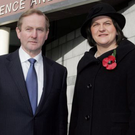Close allies: the partnership between the two countries and their leaders, Taoiseach Enda Kenny and First Minister Arlene Foster, need to be maintained