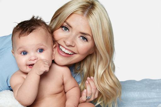 Shared experience: Holly Willoughby wants to help new mothers