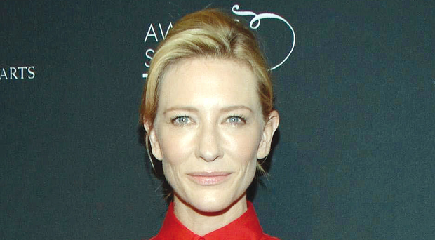 Superstar Cate Blanchett
