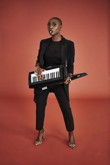 Star billing: Laura Mvula will be playing the Pyramid stage this weekend at Glastonbury