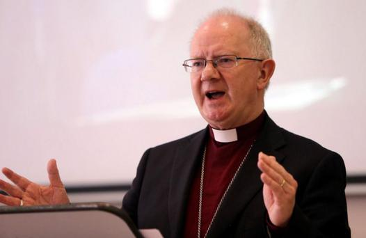 Symbolic journey: Dr Richard Clarke, Archbishop of Armagh