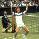 Court thriller: explosive tennis great, John McEnroe in action