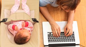 Baby talk: many go online to share their child's progress