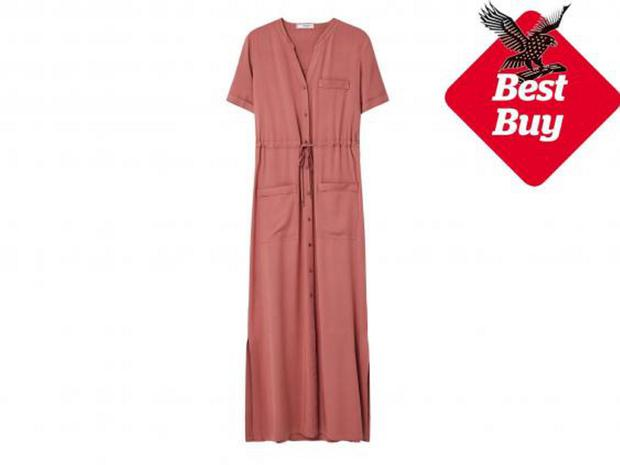 Buttoned Gown,  £59.99, Mango