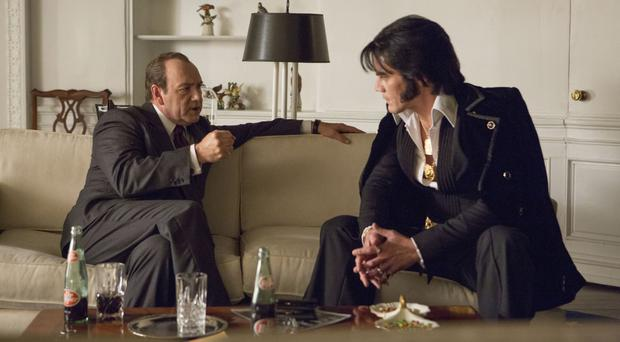 Verbal duel: Kevin Spacey and Michael Shannon in Elvis & Nixon