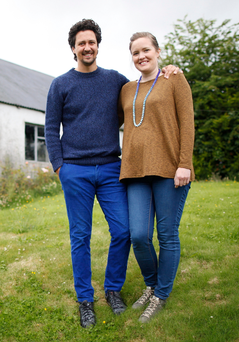 Shared love: Adam Frew and Catherine Keenan are looking forward to being parents