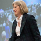 Checking in: Theresa May's tartan suit wasn't so much a musical tribute, but a message about homespun values