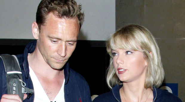 Loved up: Taylor Swift and Tom Hiddleston have set tongues wagging online