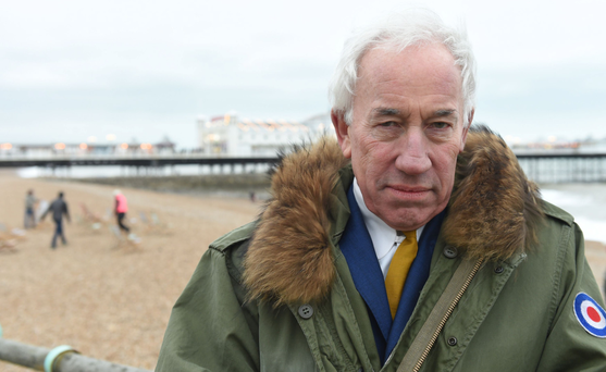 Simon Callow in his new show The Rebel