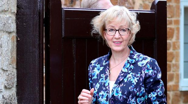 Insensitive remark: Tory MP Andrea Leadsom was heavily criticised