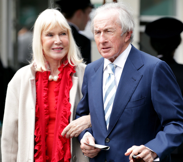 Sir Jackie and Lady Helen at Wimbledon this summer