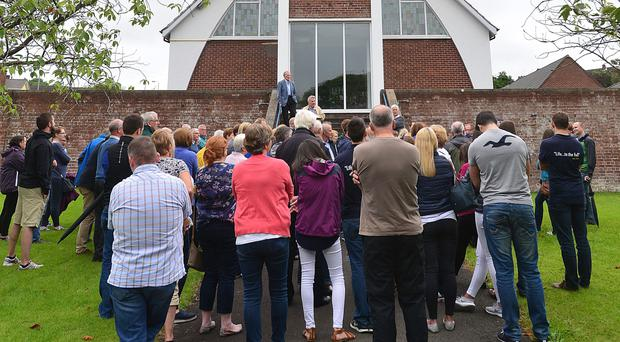 United front: there has been support for Saintfield Road Presbyterian Church