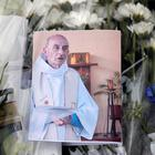 Horrific acts: floral tributes to the late Fr Jacques Hamel