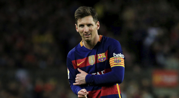 Star man: Lionel Messi is set to play some part against Celtic at the Aviva Stadium today