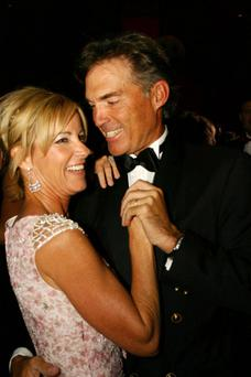 Lost love: Chris Evert blames the menopause for her split from husband Andy Mill