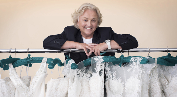 Dazzling designs: David Emanuel is bringing his expertise to television with Say Yes To The Dress