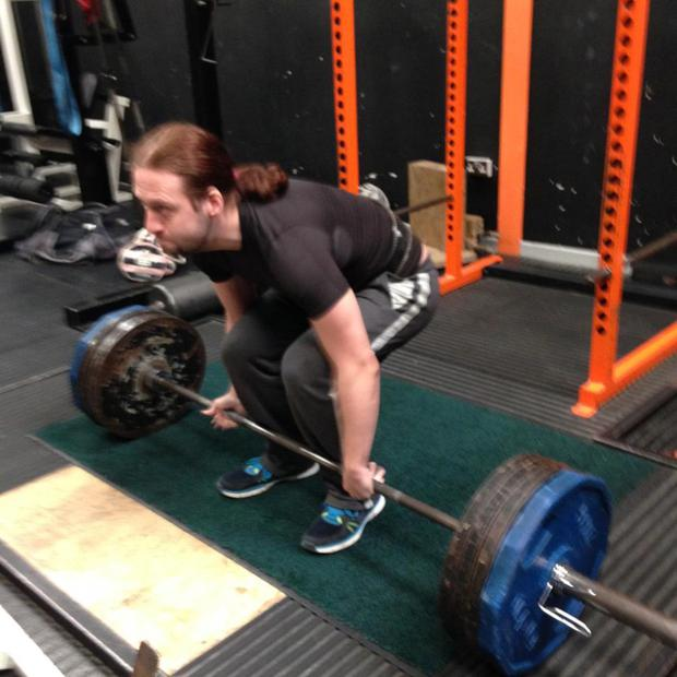 Saul and his partner Stephenie have now set up their own business as personal trainers