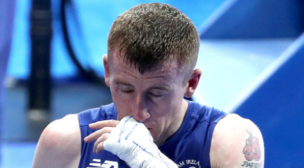 Ring woe : A dejected Paddy Barnes after his disappointment at losing in Rio