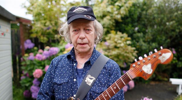 Rock legend Eric Bell, a founder member of Thin Lizzy
