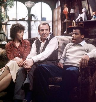 TV's Rising Damp with landlord Rigsby