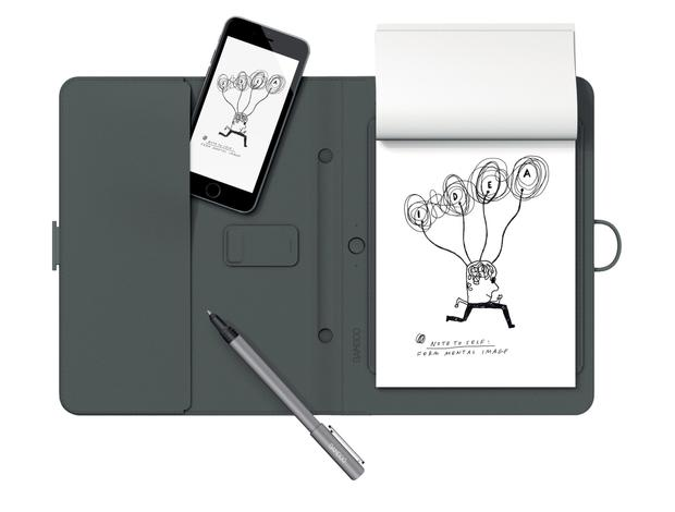 Wacom Bamboo Spark Smart Folio With Gadget Pocket, £79.99, Amazon (www.amazon.co.uk)