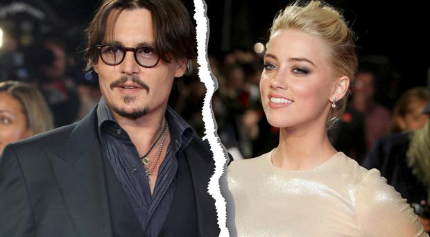 Love split: Hollywood superstar Johnny Depp and Amber Heard have recently been through a much-publicised and bitter divorce