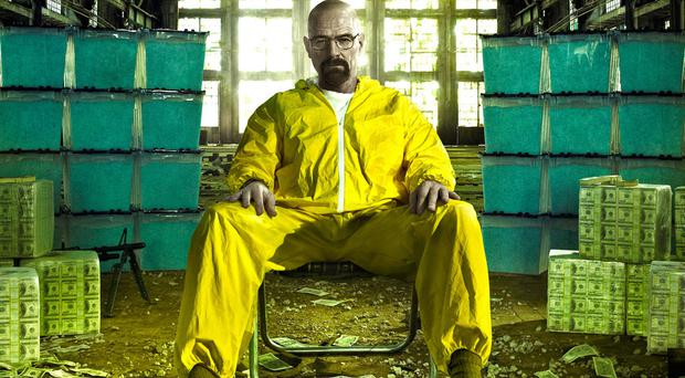 Grossly overrated: Bryan Cranston as Walter White in Breaking Bad