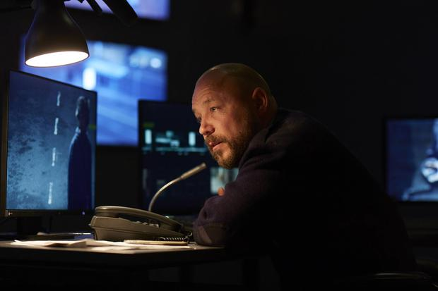 Hard act: Stephen Graham in his new TV drama The Watchman