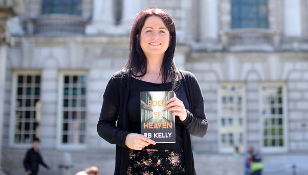 Two tales: Rachel Kelly with her new novel Edge of Heaven